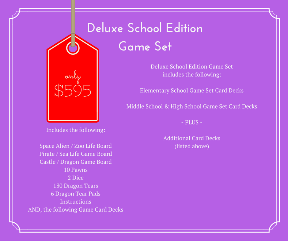 Deluxe School Edition Game Set