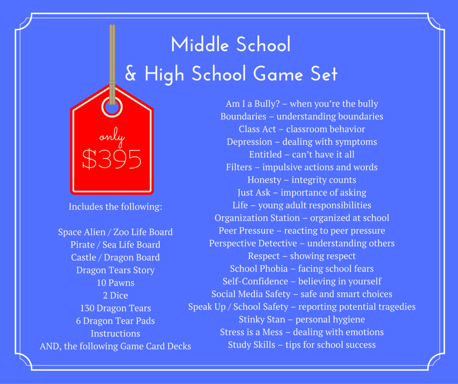 Middle & High School Game Set