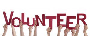 Hands Holding Volunteer